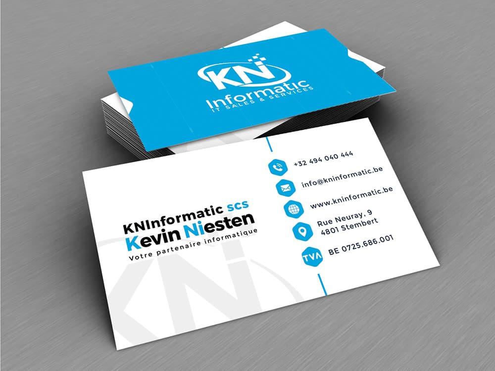 Carte de visite KN Informatic