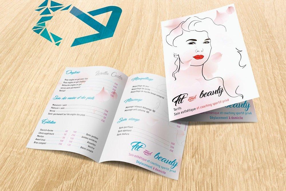 Brochure Fit & Beauty